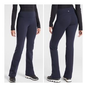 NWT Athleta Alpine Valley Lined Pant in Navy